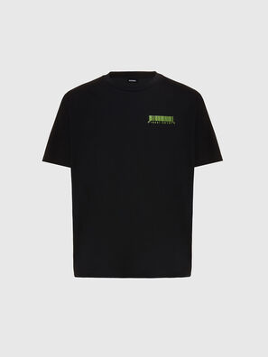 T-JUST-SLITS-X84, Noir - T-Shirts