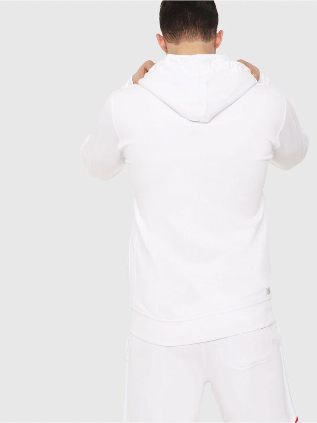 Diesel - UMLT-BRANDON-Z, Blanc - Pull Cotton - Image 2
