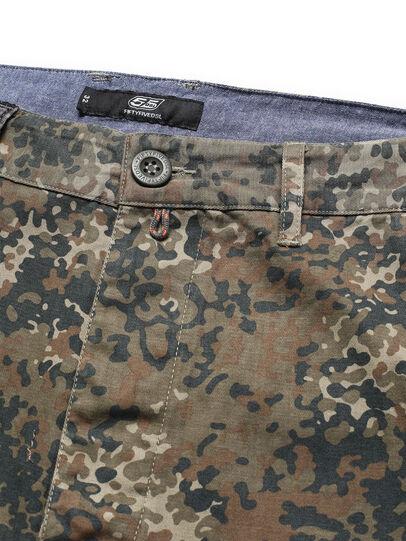 Diesel - D-ONT-HURT-ME, Vert Camouflage - Pantalons - Image 4