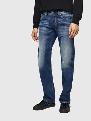Larkee 008XR, Bleu Foncé - Jeans