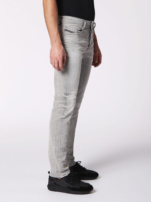 Diesel - BUSTER 0699J, Gris Clair - Jeans - Image 3
