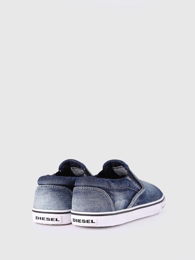 Diesel - SLIP ON 21 DENIM CH, Jean Bleu - Footwear - Image 3