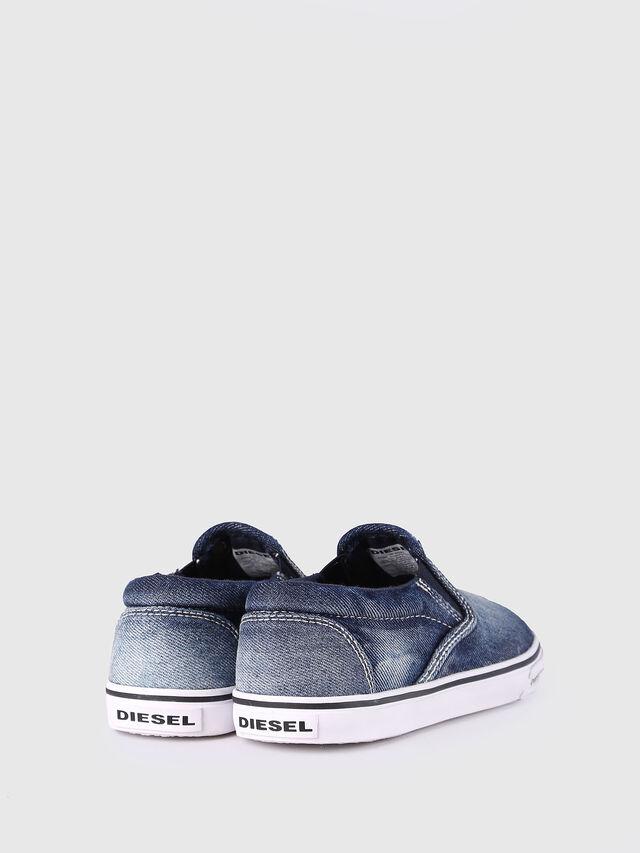 Diesel - SLIP ON 21 DENIM CH, Jean Bleu - Footwear - Image 3