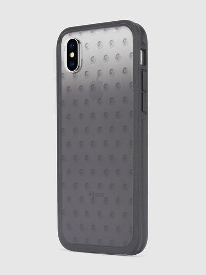 Diesel - MOHICAN HEAD DOTS BLACK IPHONE X CASE, Noir/Gris - Coques - Image 6