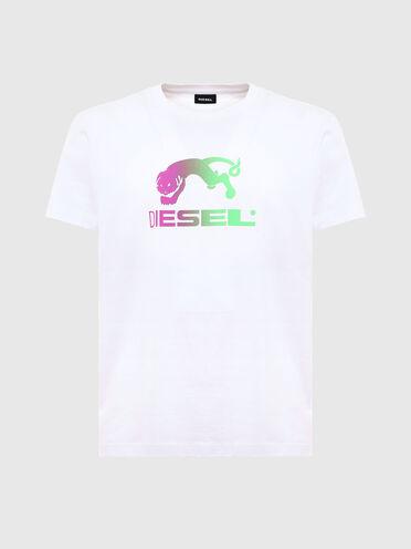 T-shirt à imprimé dégradé