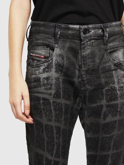 Diesel - Fayza JoggJeans 0094M, Noir/Gris foncé - Jeans - Image 3