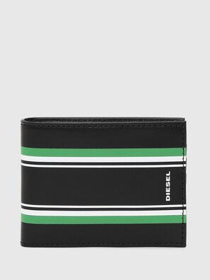 NEELA XS, Noir/Vert - Petits Portefeuilles