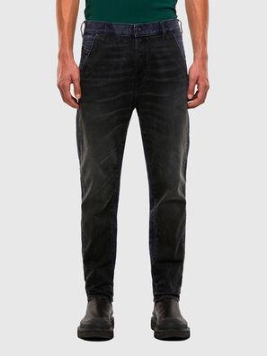D-Slack 009KZ, Noir/Gris foncé - Jeans