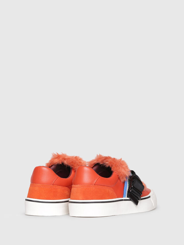 Diesel - S-FLIP LOW BUCKLE W, Orange - Baskets - Image 3
