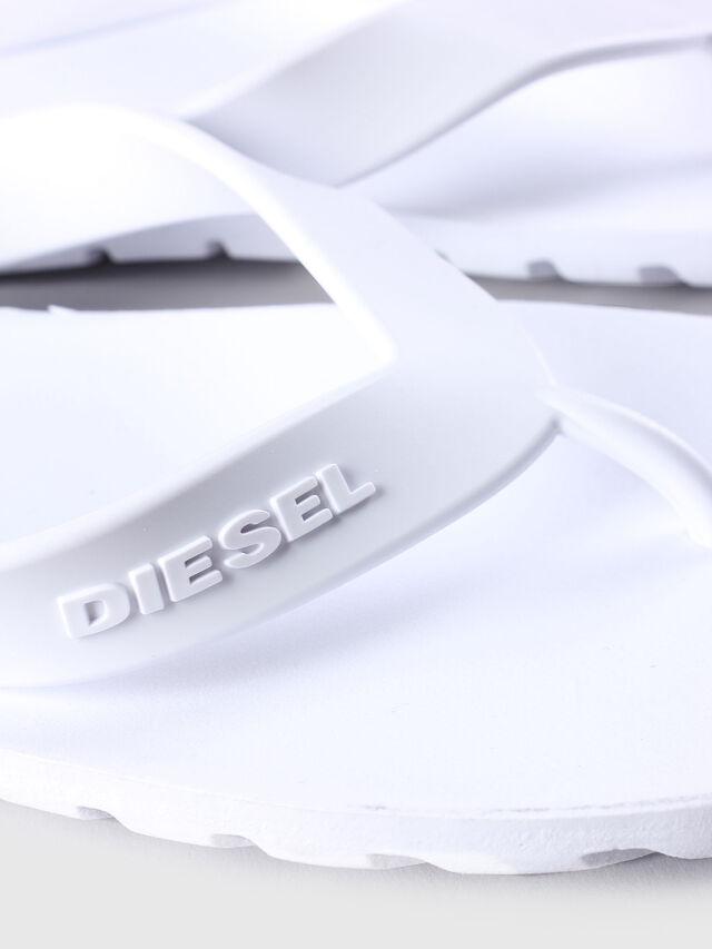 Diesel - SPLISH, Blanc - Claquettes - Image 4