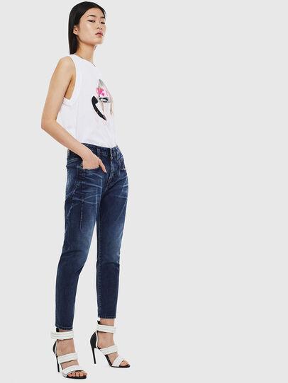 Diesel - Fayza 009BY, Bleu Foncé - Jeans - Image 6