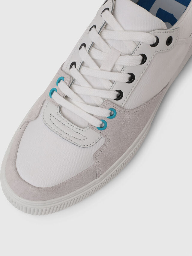 Diesel - S-DANNY LC, Blanc - Baskets - Image 4