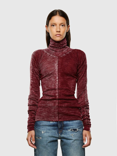 Diesel - M-ISABELLE, Marron - Pull Maille - Image 1