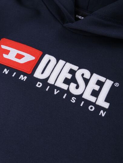 Diesel - SDIVISION OVER, Bleu Nuit - Pull Cotton - Image 3