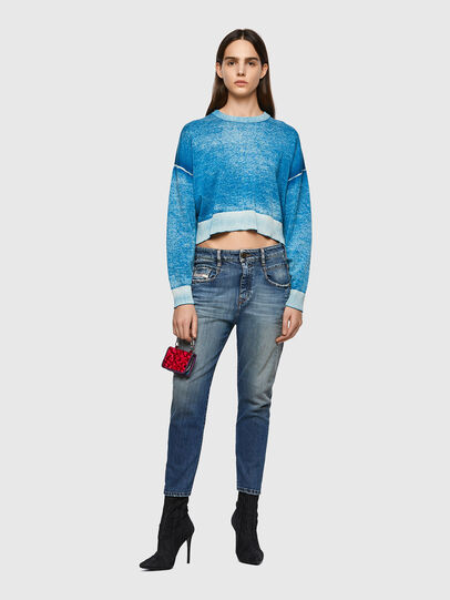 Diesel - Fayza 09A08, Bleu moyen - Jeans - Image 5
