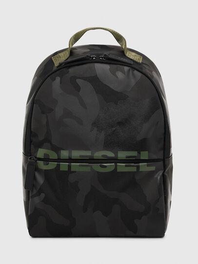 Diesel - BOLD BACKPACK, Noir/Vert - Sacs - Image 1