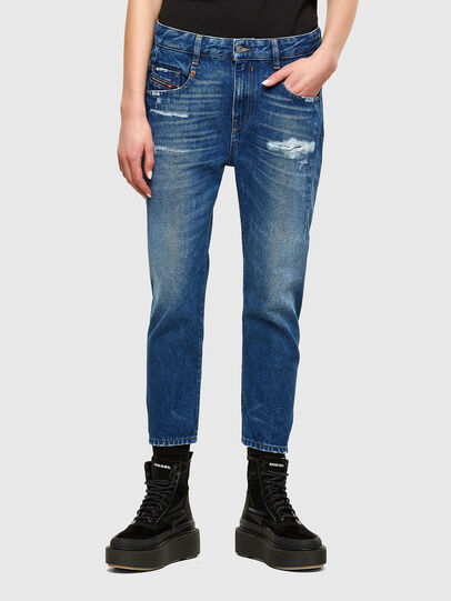 Diesel - Fayza 0079R, Bleu moyen - Jeans - Image 1