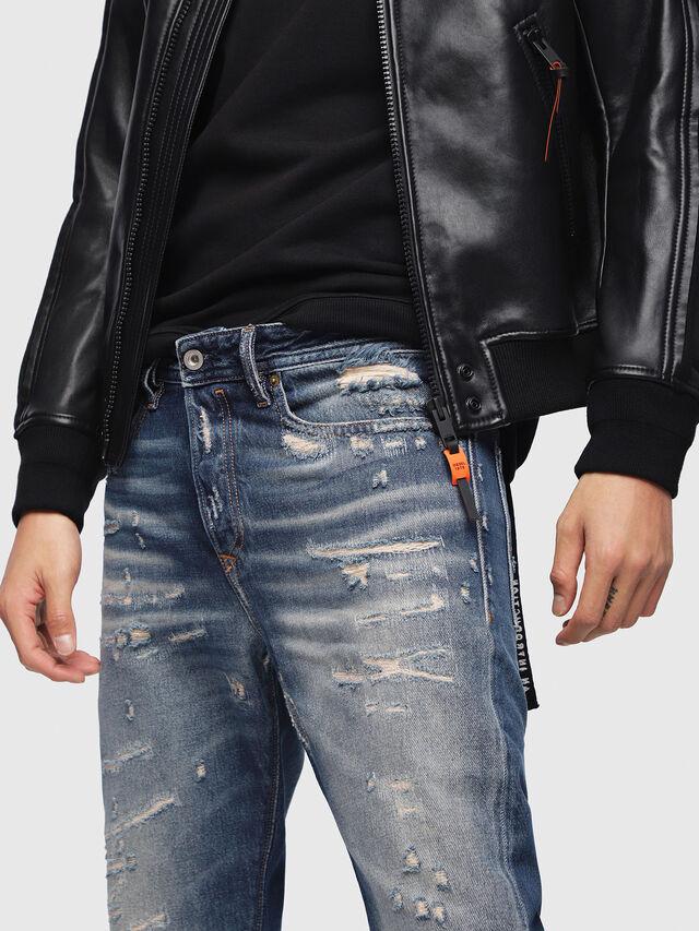 Diesel - Buster 088AQ, Bleu Foncé - Jeans - Image 3
