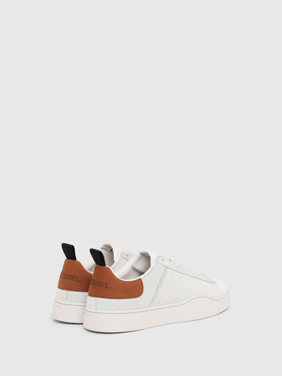 Diesel - S-CLEVER LOW LACE, Blanc/Brun - Baskets - Image 3