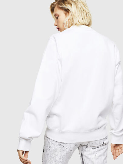 Diesel - F-ANG-COPY, Blanc - Pull Cotton - Image 2