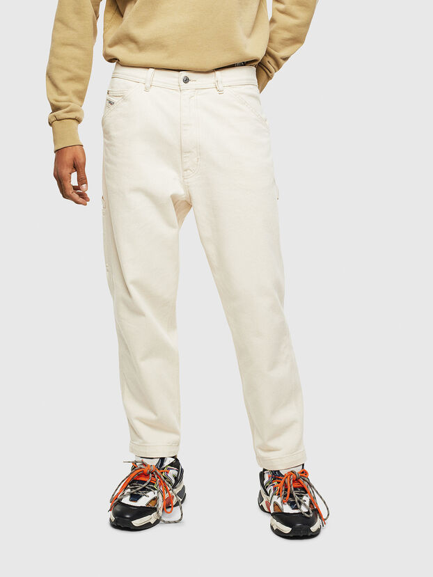 P-LAMAR, Blanc - Pantalons