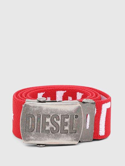 Diesel - BARTY, Rouge/Blanc - Ceintures - Image 1