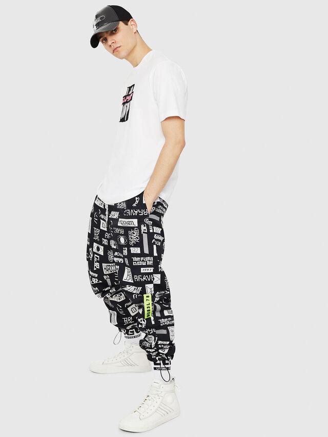 Diesel - T-JUST-Y23, Blanc - T-Shirts - Image 5