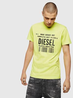 T-DIEGO-B6, Jaune Fluo - T-Shirts