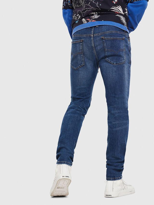Diesel - Sleenker 069AJ, Bleu moyen - Jeans - Image 2