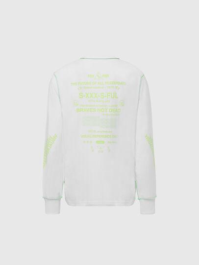 Diesel - T-JUSEAM-LS, Blanc - T-Shirts - Image 2