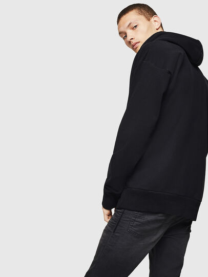 Diesel - S-ALBY, Noir - Pull Cotton - Image 2