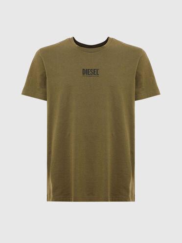 T-shirt avec petit logo imprimé