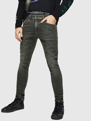 Thommer 0890E, Vert/Gris - Jeans
