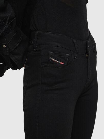 Diesel - Slandy Zip 069EF, Noir/Gris foncé - Jeans - Image 3
