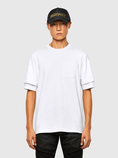 Diesel - T-FONTAL, Blanc - T-Shirts - Image 1