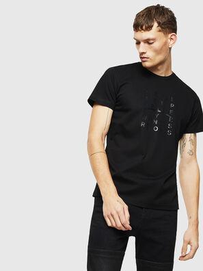 T-DIEGO-J8, Noir - T-Shirts