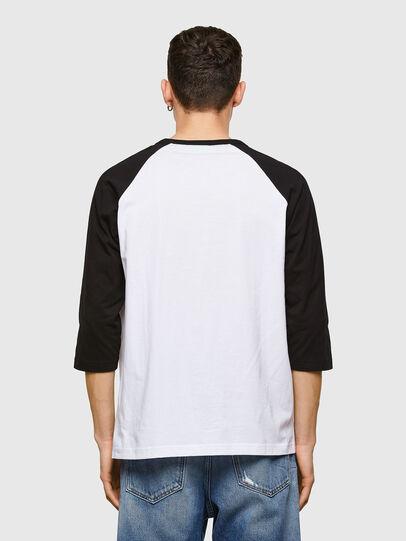 Diesel - T-BEISBOL, Blanc - T-Shirts - Image 2