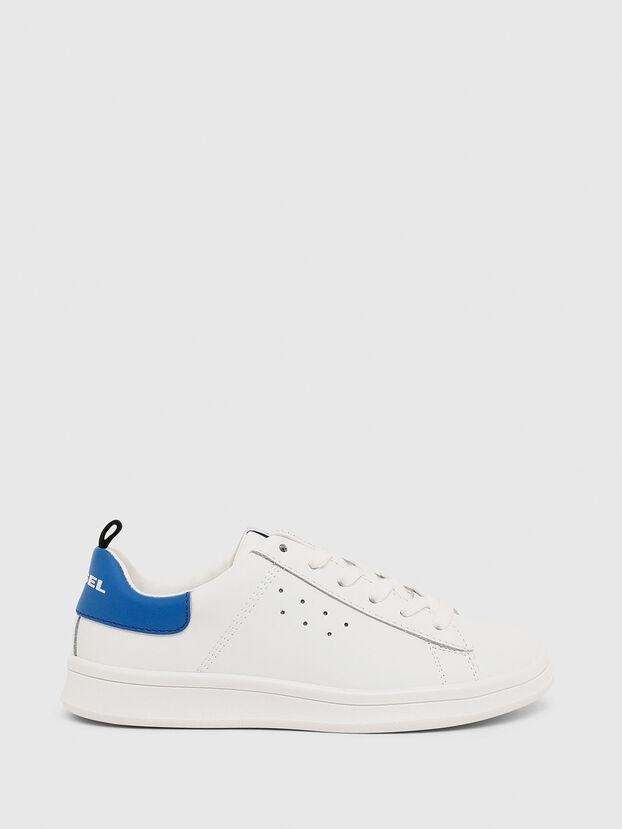 SN LOW LACE 11 FULL, Blanc/Bleu - Footwear