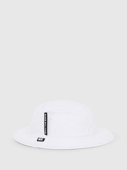 Diesel - DACHET, Blanc - Chapeaux - Image 2