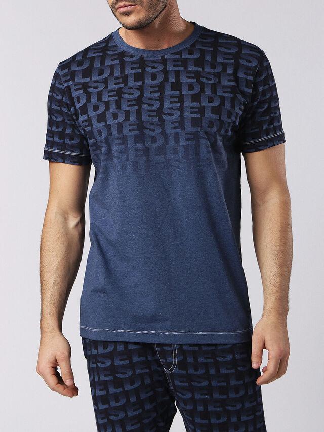 Diesel - UMLT-JAKE, Bleu - T-Shirts - Image 1