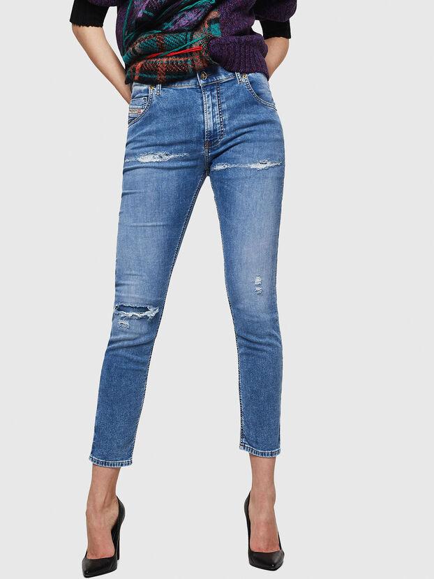 Krailey JoggJeans 069IH, Bleu Clair - Jeans