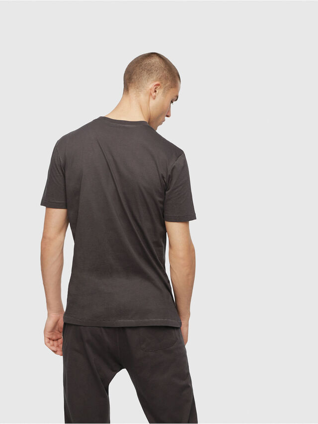 Diesel - UMLT-JAKE, Gris foncé - T-Shirts - Image 2