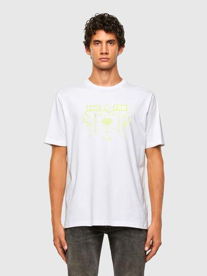 Diesel - T-JUST-X65, Blanc - T-Shirts - Image 4