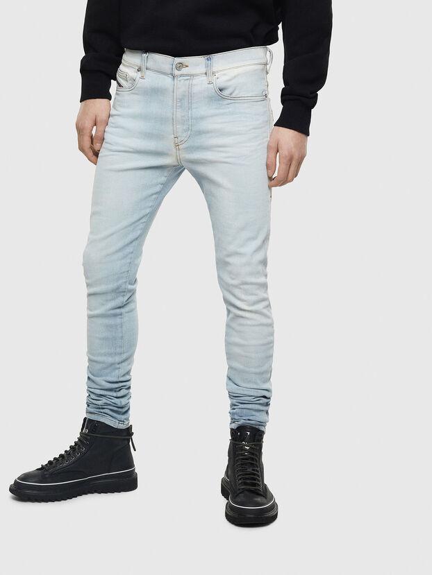 D-Amny 009BE, Bleu Clair - Jeans