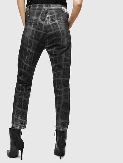Diesel - Fayza JoggJeans 0094M, Noir/Gris foncé - Jeans - Image 2