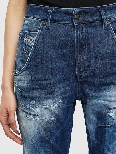 Diesel - Fayza JoggJeans 0099S, Bleu Foncé - Jeans - Image 3