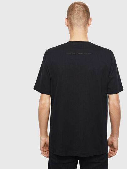 Diesel - T-JUST-T30, Noir - T-Shirts - Image 2