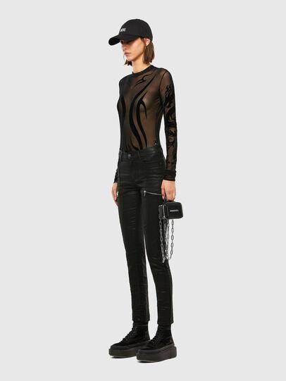Diesel - D-Ollies JoggJeans® 069RK, Noir/Gris foncé - Jeans - Image 8