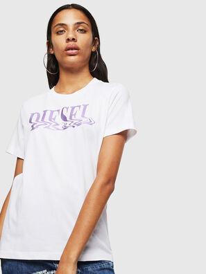 T-SILY-WN, Blanc/Rose - T-Shirts
