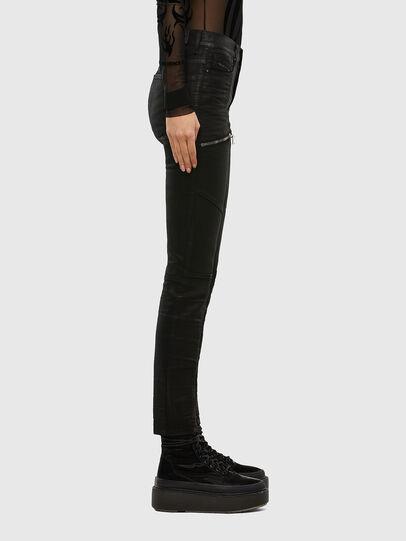 Diesel - D-Ollies JoggJeans® 069RK, Noir/Gris foncé - Jeans - Image 4
